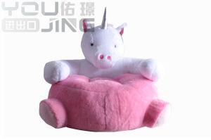 卸し売りソファーのプラシ天はユニコーン動物のクッションをもてあそぶ