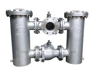 De sanitaire, Industriële Zeef van het Water van de Vorm van Y, de Filter van het Water van de Mand