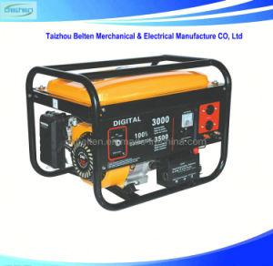 Одна фаза бензин генераторной установки пульта дистанционного управления бензиновый генератор