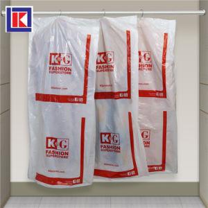 플라스틱 LDPE 명확한 세탁물 드라이 클리닝 회전 여행용 양복 커버