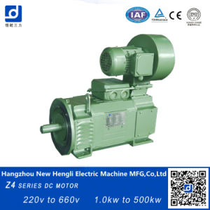 Vertical eléctrica de la Serie Z4 55kw Motor dc de montaje