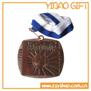 De Lopende Medaille van het Embleem van de douane met Afgedrukt Sleutelkoord (yb-md-05)