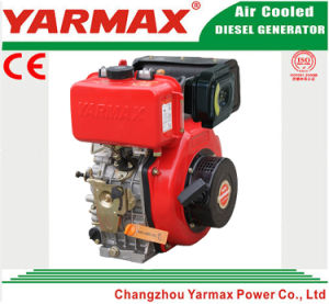 Yarmax 세륨 ISO 디젤 엔진에서 공기에 의하여 냉각되는 단 하나 실린더 188f 8HP 9HP 전기 시작