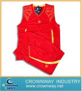 빨간 우연한 형식 스포츠 Jerseys (CW-BW24)