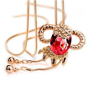 Womem Crystal Necklaceのための卸し売りFashion Jewellery