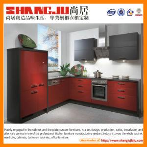 Sale를 위한 빨간 Elegant Modern Kitchen