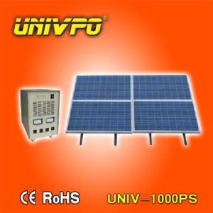 Fuera de la red de 1kw sistema generador de energía solar para el hogar (UNIV-1000PS).