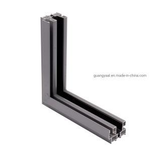 Alumínio extrudido Anodize e revestimento a pó Architectual 001