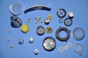 Пластмассовые детали фильтра в химической промышленности для фильтрации, Sifting и сбора пыли