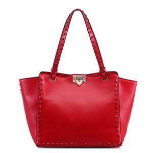 女性Handbag花によって印刷されるデザイナー方法袋の肩の革女性