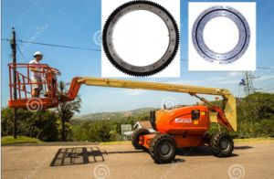 Engranaje exterior externo de velocidades de rotación del cojinete giratorio anillo el cojinete caciones. 061.20.0944