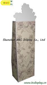 Berühmte Marke Lipsti⪞ K-Pappfußboden-Ausstellungsstand mit Haken, Papierbildschirmanzeige mit SGS (B&C-B00&⪞ apdot;)