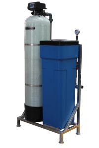 Regeneração de resinas de troca iônica único tanque abrandador de água