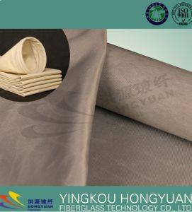 De industriële het Van stof ontdoen Geweven Structuur PTFE, Grafiet, Silicone van de Micro- Doek van de Filter/van de Filter van de Lucht Gebeëindigde 450GSM