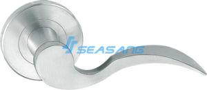 高品質304のステンレス鋼の固体鋳造のドアハンドルSf004