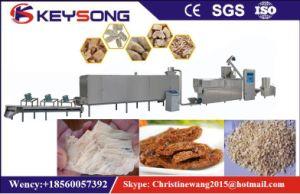 Texturizados artificiais de proteína de soja fazendo a máquina