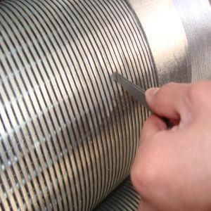 Kohlenstoffstahl Btc Gewinde-Enden-Keil-Draht-Bildschirm Huadong Außendurchmesser-8 5/8inch Galvanzied