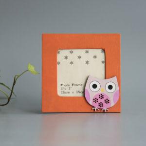 Fr71 ASTM Photo Frame en contreplaqué en bois avec des animaux de la conception