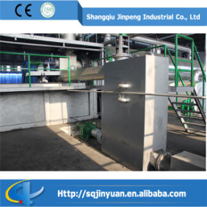 Marque Jinpeng Technologie la plus récente machine de recyclage des déchets en continu
