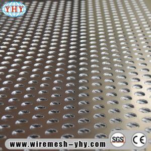 Алюминиевые 0.7mm перфорированной металлической лист с круглым отверстием для украшения
