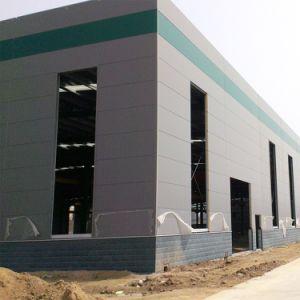 La construcción del marco de acero/prefabricó el taller del edificio/el almacén de la estructura de acero