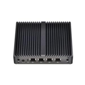 Qotom 4 Mini LAN PC Celeron Baytrail J1900 Industrial Computer