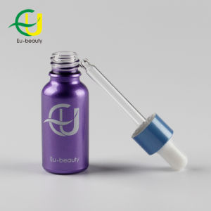 20ml Purple Coating Essential Oil Bottle with Dropper Knell