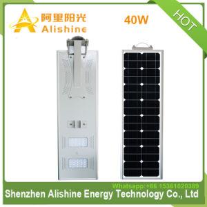 40W LEDの統合された60Wモノラル太陽電池パネルの太陽街灯