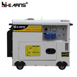 6 Kilowatt-leiser Dieselmotor-Energien-Generator-Preis (DG7000SE)