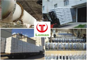 Inhoud van het Dioxyde van het Titanium Anatase van het Merk La102 van Loman 98.5%Min TiO2
