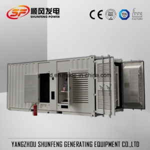 910kw 콘테이너 유형 침묵하는 Mtu 전력 디젤 엔진 생성 세트