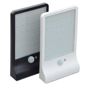 2018 4W estilo Simple IP65, la energía solar de luz LED de luz de pared