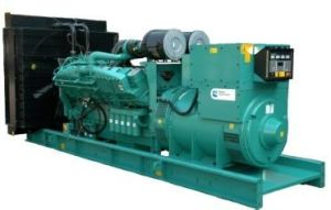 Standby Generator 600kw 750kVA Toilets-Cooled Diesel Volvo Electric Generator
