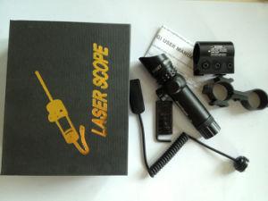 Визирование лазера зеленого цвета регулировки звероловства с 20mm + «8» держателей