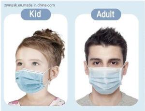 3-Ply nontissé masque Masque jetable Grade face