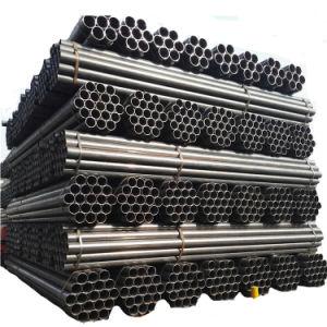 Commerce de gros Caissons pour puits de carbone rond noir Prix de tuyaux en acier soudé