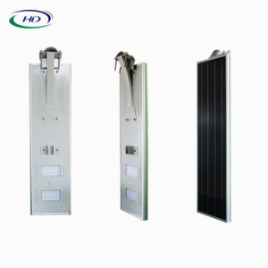 40W PIRセンサー統合されたLEDの太陽街灯
