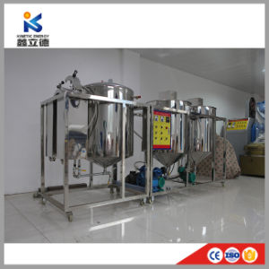 원가 고급 코코낫유 정련소 기계 아마씨 석유 정제 선반 플랜트 장비