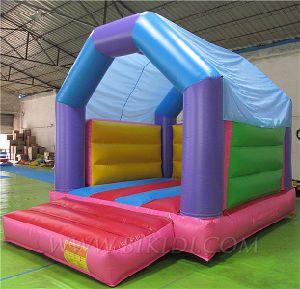 Rebote hinchable casa con techo, Fun House B1132)