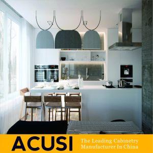 Armadi da cucina moderni personalizzati commercio all'ingrosso della lacca dell'Australia (ACS2-L03)