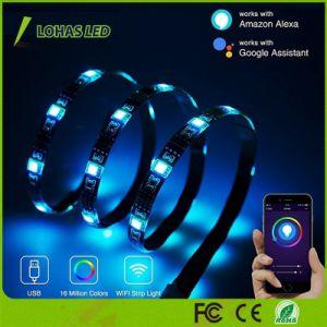 2m/6.56м Smart LED WiFi газа разноцветной для украшения дома