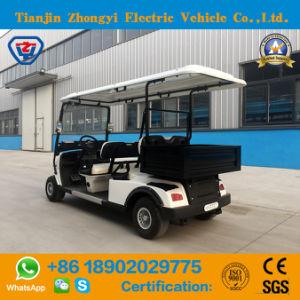 Aprovado pela CE Mini 4 Lugares carrinho de golfe eléctrico