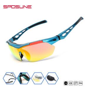 cd24f2490e8df Shattproof grossista fiável elegante design personalizado de réplica sua  marca essencial comprar os óculos de sol com 5 lentes amovíveis