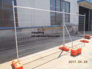 熱い浸された電流を通された金属の鋼鉄構築の一時塀
