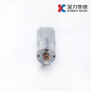 Baja velocidad de 20mm de diámetro de 12V DC Pulido Mini motores de engranajes