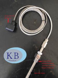 Resistenza termica corazzata a temperatura elevata del sensore di temperatura di Rtd del platino PT100