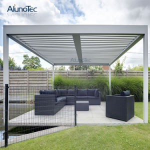 pergola en aluminium ext rieur de toit de lame de tente pour le paquet pergola en aluminium. Black Bedroom Furniture Sets. Home Design Ideas