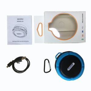 Круглый Fixable водоустойчивый портативный миниый беспроволочный диктор Bluetooth