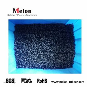 Motor da Válvula da máquina de silicone de borracha EPDM NBR Anel de vedação Viton