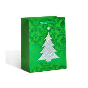 Sacs de papier cadeau de Noël de fantaisie Sacs en papier pour Noël (YH-PGB045)
